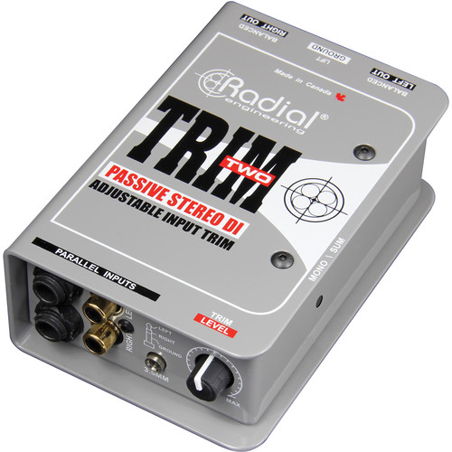 Radial Engineering Trim-Two Stereo DI with Volume Control