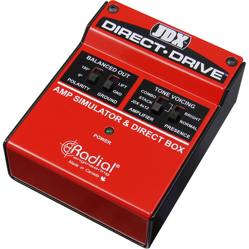 Radial Engineering JDX Direct Drive Amp Simulator