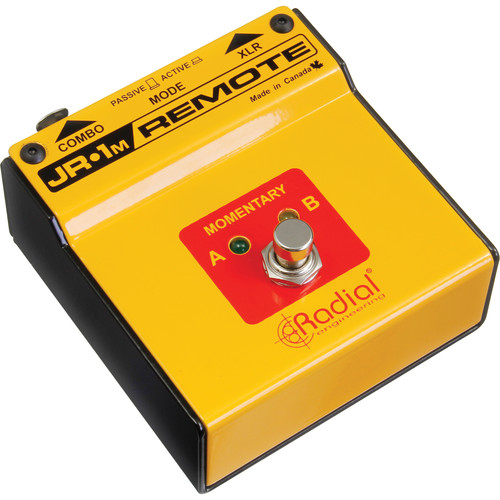 Radial Engineering JR1M - Remote Momentary Footswitch