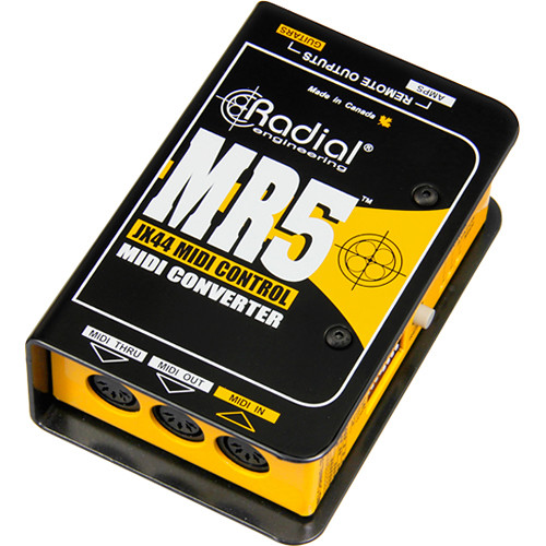Radial Engineering MR5 MIDI to JR5 Translator