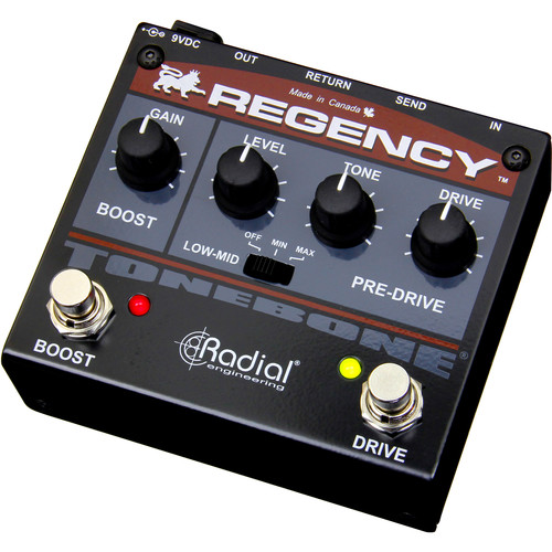 Radial Engineering Regency Pre-Drive and Power Booster with Onboard FX Loop