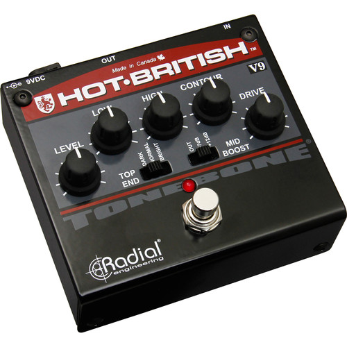 Radial Engineering Hot-British V9 Distortion Pedal