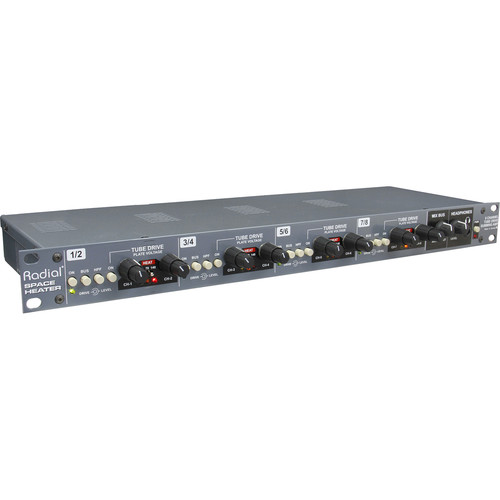 Radial Engineering Space Heater 8-Channel Tube Drive Summing Mixer