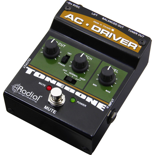 Radial Engineering Tonebone AC Driver Compact Acoustic Instrument Preamp
