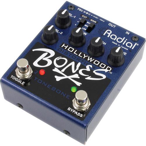 Radial Engineering Bones Hollywood Distortion Pedal (9V)