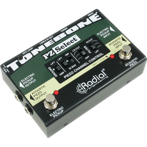 Radial Engineering PZ Select Acoustic Electric Controller