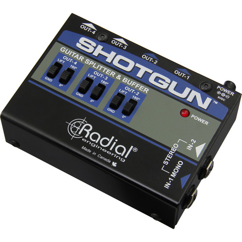 Radial Engineering Shotgun 4-Channel Amp Driver