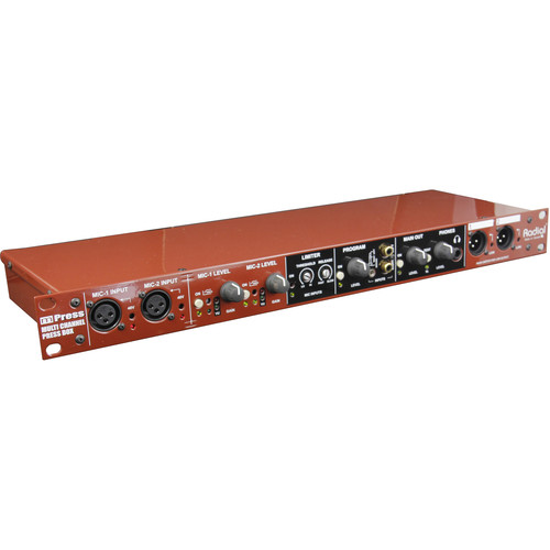 Radial Engineering mPress Modular Broadcast Press Box