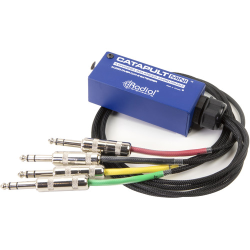 Radial Engineering Catapult Mini TRS 4-Channel Cat 5 Audio Snake