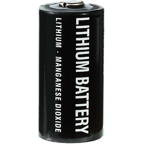 RadioPopper CR123A Lithium-Manganese Dioxide Batteries (3V, 4-Pack)