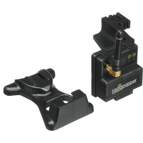 RadioPopper PX-RN Receiver with Nikon Mounting Bracket (CE/Euro)