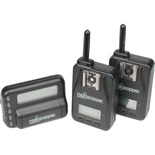 RadioPopper Jr2 Studio Kit for Nikon with 2 Receivers