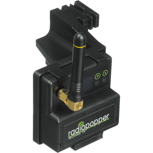 RadioPopper PX-RN Receiver with Nikon Mounting Bracket