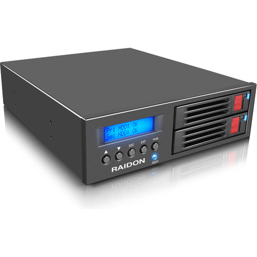 Raidon InTANK MR2020-2S-S2R Single-Bay SATA II RAID Enclosure