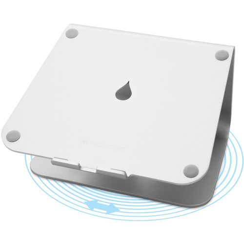 Rain Design mStand360 Laptop Stand with 360&deg Swivel Base (Silver)