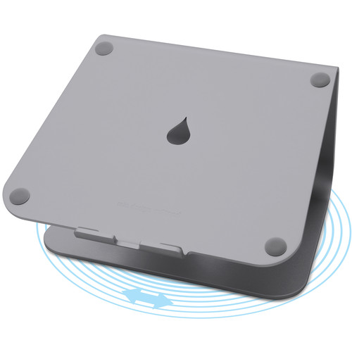 Rain Design mStand360 Laptop Stand with 360&deg Swivel Base (Space Gray)