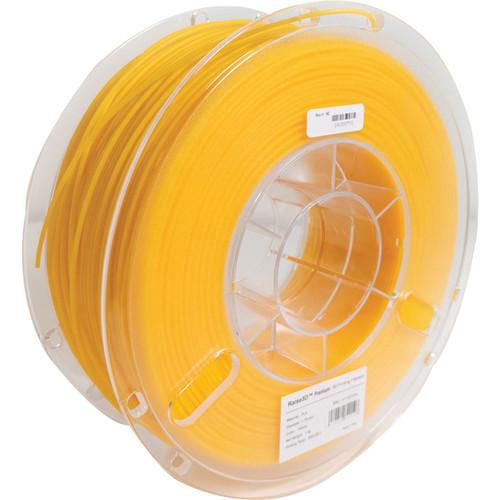 Raise 3D 1.75mm Premium PLA Filament (1kg, Yellow)