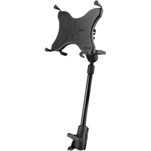 """RAM MOUNTS X-Grip Wheelchair Seat Track Mount for 9""""-10"""" Tablets"""