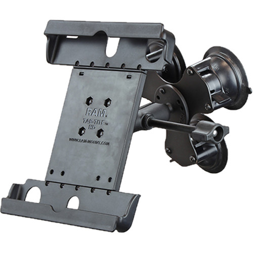 """RAM MOUNTS Tab-Tite Mount with Twist-Lock Triple Suction for 9"""" Tablets"""