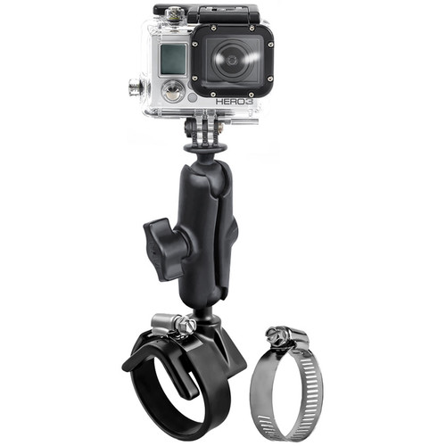 RAM MOUNTS V-Base Strap Mount with GoPro Camera Ball Adapter