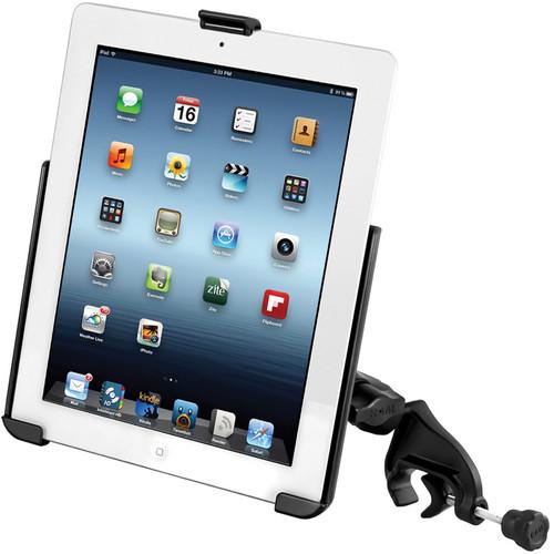 RAM MOUNTS Yoke C-Clamp Mount for Apple iPad 1/2/3/4 (Without Case)