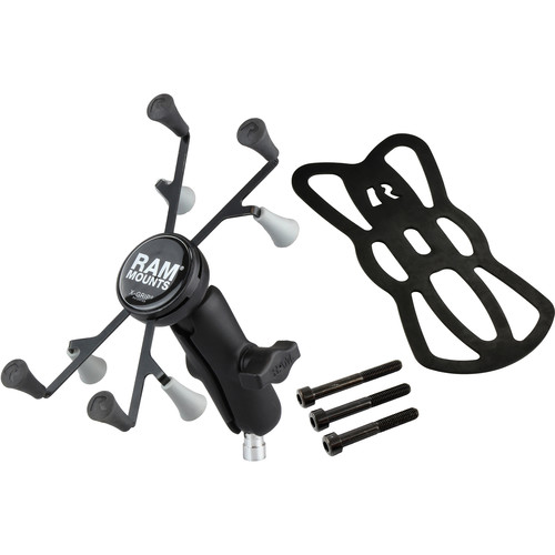 """RAM MOUNTS M8 Motorcycle Base with X-Grip for 7"""" Tablets"""