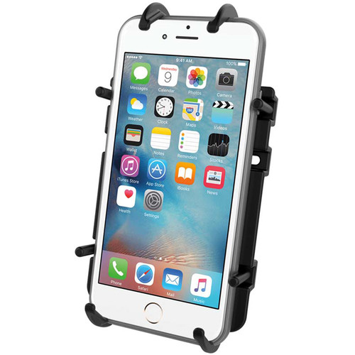 RAM MOUNTS Quick-Grip Universal Phone Holder with Ball (B Size)