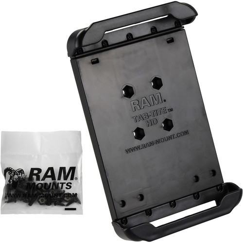 """RAM MOUNTS Tab-Tite Cradle for Select 7"""" Tablets Including the Samsung Galaxy Tab 4 7.0"""" Protected by an Otter Box Defender Case"""