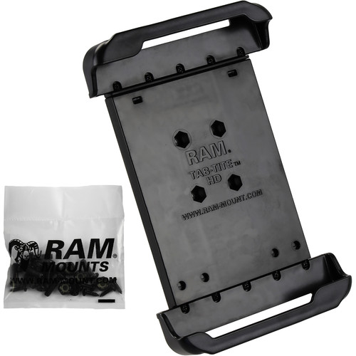 "RAM MOUNTS Tab-Tite Cradle for Select 8"" Tablets Including the Samsung Galaxy Tab 4 8.0"" and Tab S 8.4"" Protected by an OtterBox Defender Case"