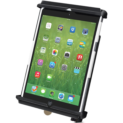 RAM MOUNTS TAB-LOCK Locking Cradle for iPad mini with Case, Skin, or Sleeve