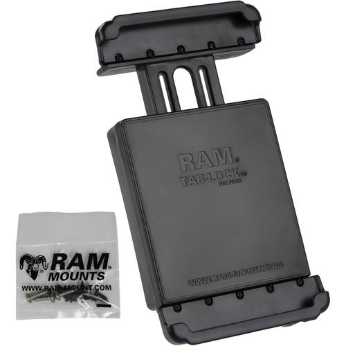 "RAM MOUNTS Tab-Lock Locking Cradle for Samsung Galaxy Tab 4 8.0"" & Tab S 8.4"""