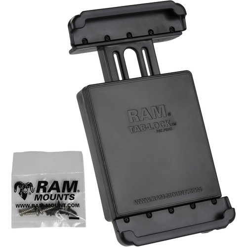 "RAM MOUNTS Tab-Lock Locking Cradle for Samsung Galaxy Tab 4 8.0"" & Tab S 8.4"""