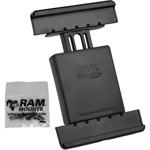 "RAM MOUNTS Tab-Lock Locking Cradle for Samsung Galaxy Tab 4 10.1 & Tab S 10.5"""