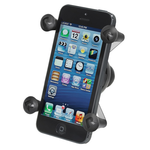 "RAM MOUNTS Cradle Holder - Universal X-Grip Cell Phone Holder with 1"" Ball"