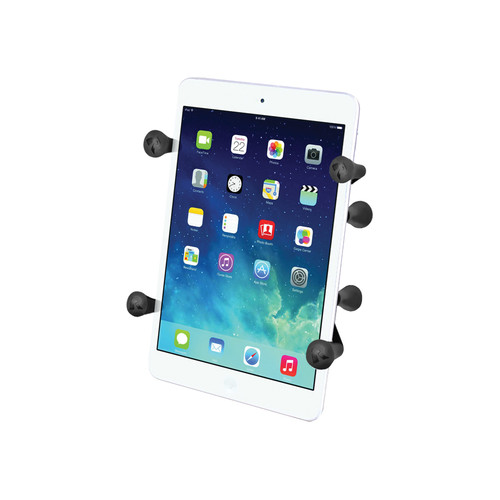 """RAM MOUNTS Universal X-Grip II Tablet Holder with 1"""" Ball for Small Tablets"""