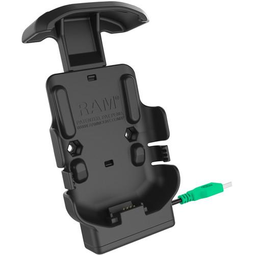 RAM MOUNTS Form-Fit Powered Cradle for Zebra TC51, TC52, TC56 & TC57