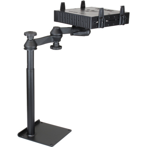 RAM MOUNTS Universal Drill-Down Laptop Mount with Flat Side Arms for Select Laptop