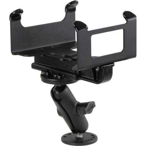 "RAM MOUNTS RAM-VPR-105T-B-1 1"" Drill-Down Ball Mount System with Printer Cradle for Toshiba EP4"