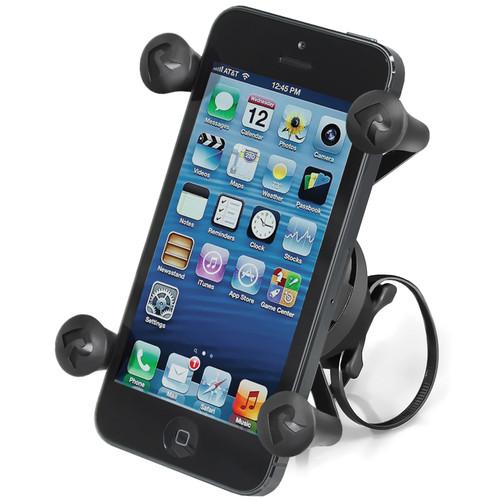RAM MOUNTS EZ-ON/OFF Smartphone Bicycle Mount with Universal X-Grip Phone Holder