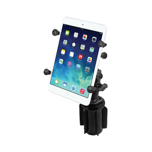 RAM MOUNTS RAM-A-CAN II Cup Holder Mount with X-Grip II Holder
