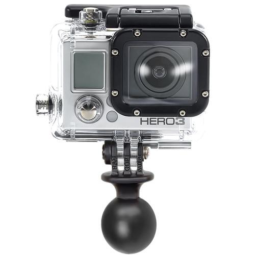"RAM MOUNTS 1"" Diameter Ball with Custom GoPro Hero Adapter"