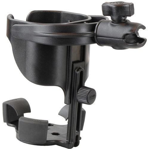 "RAM MOUNTS RAM Level Cup XL with Single Socket for B-Size 1"" Ball"