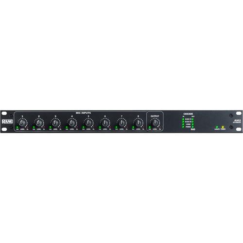 Rane Commercial AM2 8-Channel Automixer