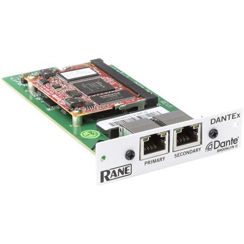 Rane Commercial Dante Interface Card for Terminal 1010X Processor
