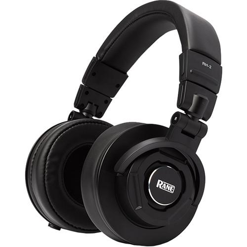 Rane Commercial RH-2 50mm Over-Ear Headphones for Critical Listening