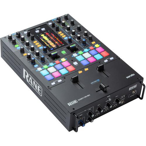 RANE DJ SEVENTY-TWO 2-Channel Performance Mixer w/ Touchscreen for Serato DJ Pro