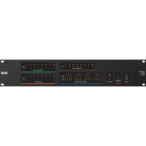 Rane HAL1x Programmable DSP Audio Distribution Multiprocessor