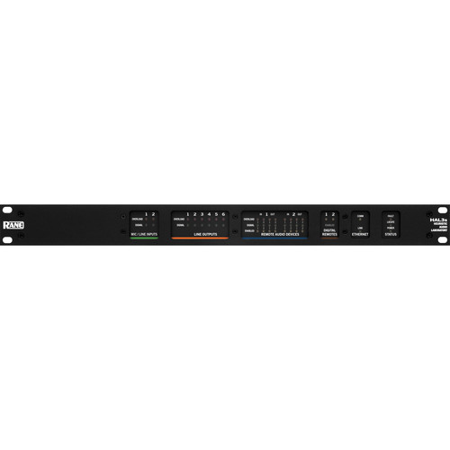 Rane Commercial HAL3s Multiprocessor