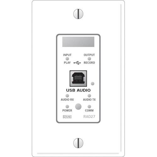 Rane RAD27 USB Audio Sound Card (White)