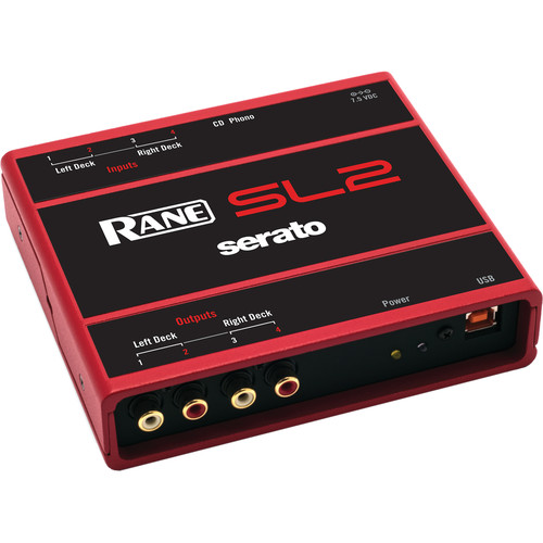 Rane SL2 Interface for Serato Scratch Live (Red)